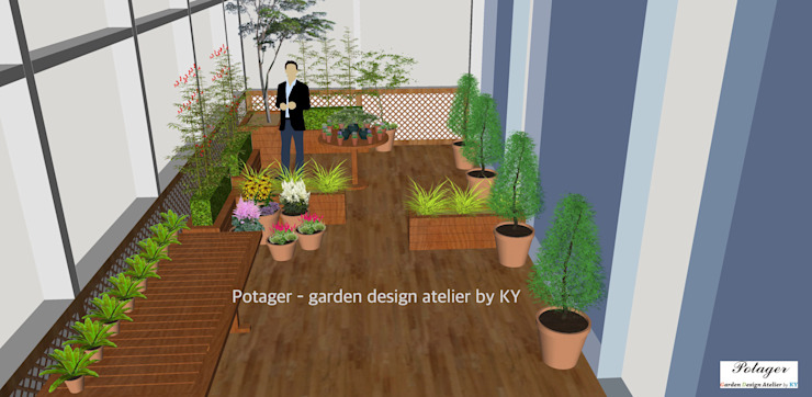 Potager Patios Green