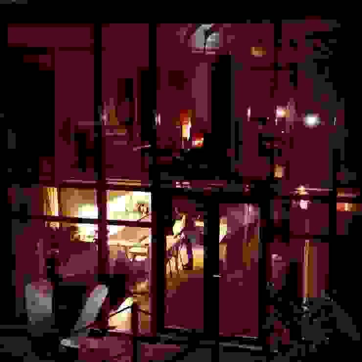 ABCDEstudio Rumah Gaya Mediteran Kayu Wood effect