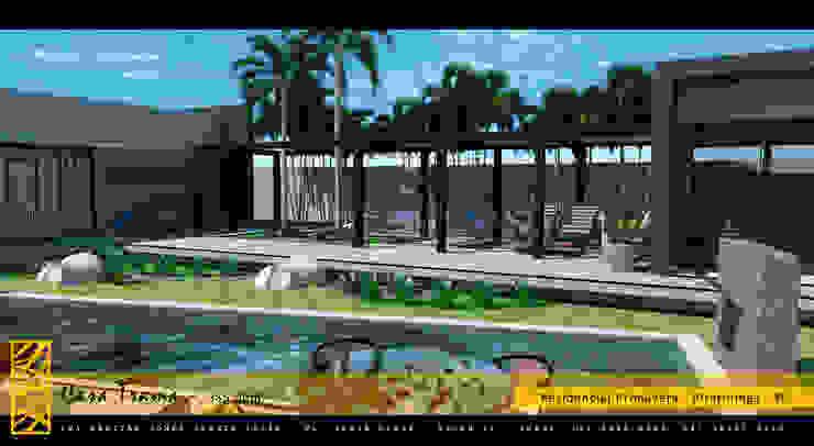 PROJETO TRAMA – RESIDENCIAL PRIMAVERA – PIRATININGA / SP Jardins modernos por Márcio Cortopassi Arquitetura Moderno