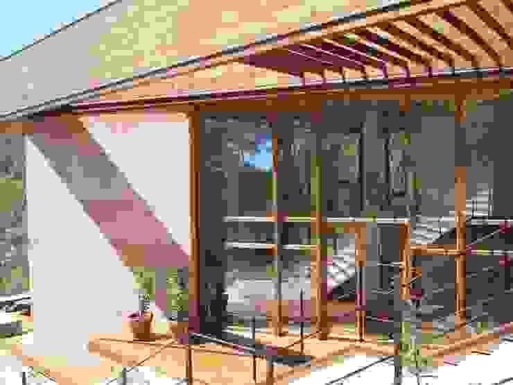 ABCDEstudio Pintu & Jendela Gaya Mediteran Kayu Wood effect