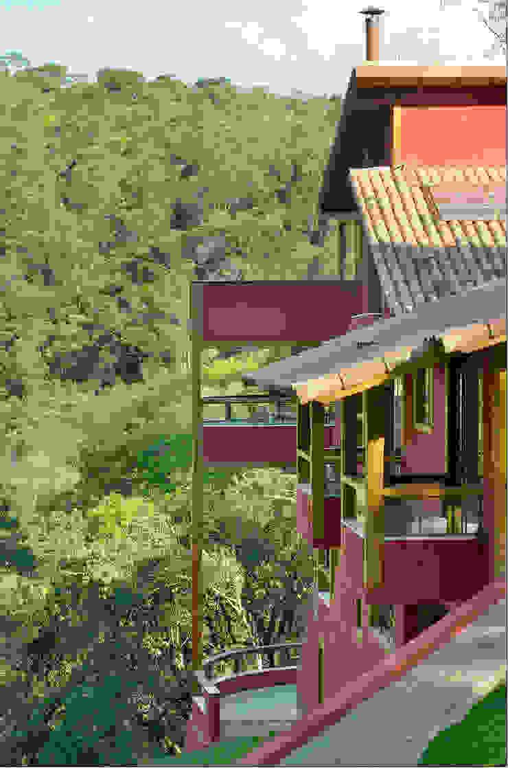 Casa da Mata 4 Casas campestres por David Guerra Arquitetura e Interiores Campestre