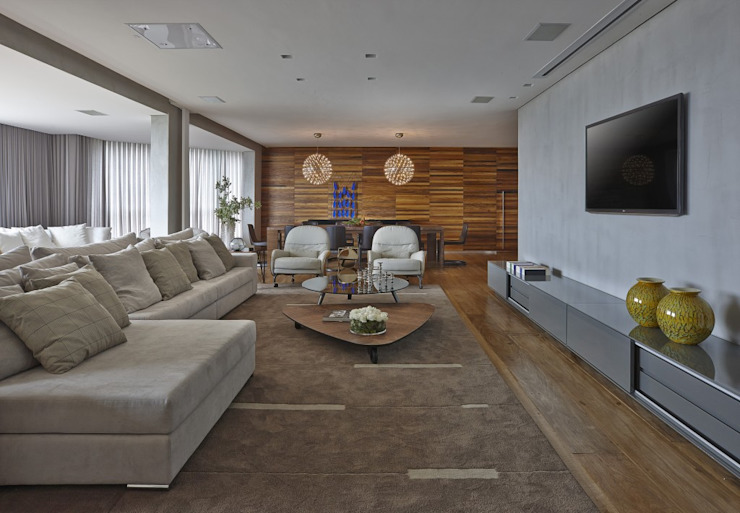 LA4 Casas modernas por David Guerra Arquitetura e Interiores Moderno