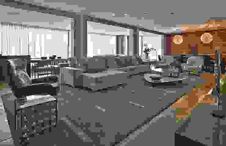 LA5 Casas modernas por David Guerra Arquitetura e Interiores Moderno
