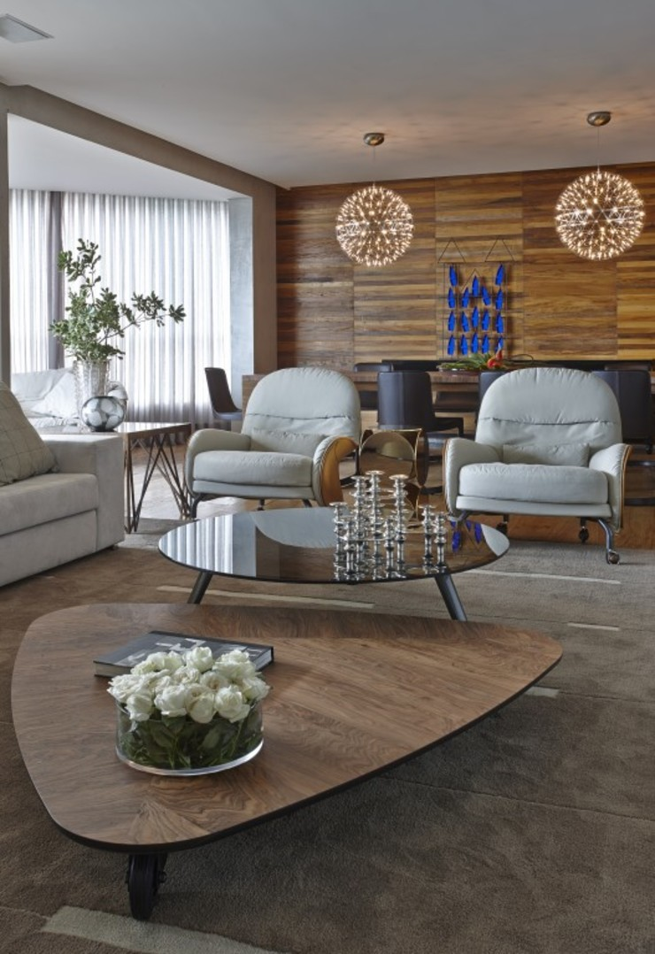 LA6 Casas modernas por David Guerra Arquitetura e Interiores Moderno