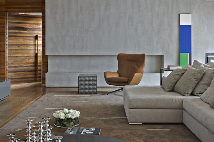 LA8 Casas modernas por David Guerra Arquitetura e Interiores Moderno