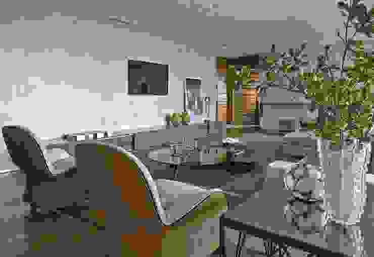 LA10 Casas modernas por David Guerra Arquitetura e Interiores Moderno