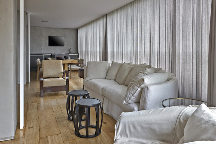 LA18 Casas modernas por David Guerra Arquitetura e Interiores Moderno