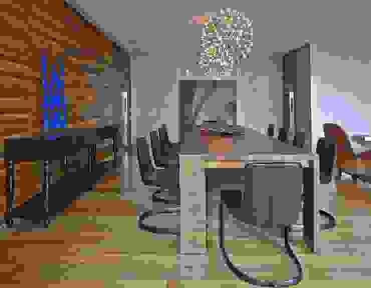LA20 Casas modernas por David Guerra Arquitetura e Interiores Moderno