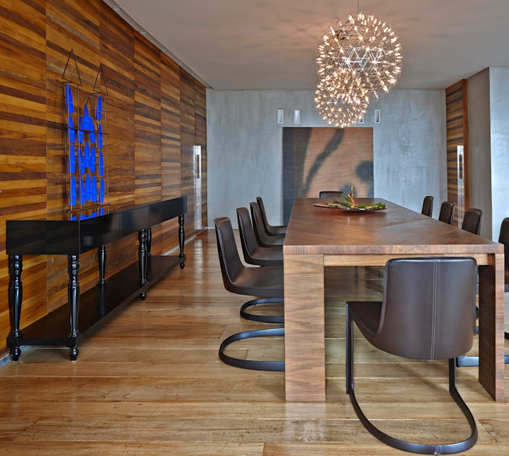 LA21 Casas modernas por David Guerra Arquitetura e Interiores Moderno