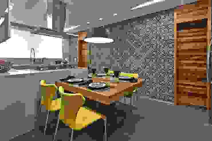LA23 Casas modernas por David Guerra Arquitetura e Interiores Moderno