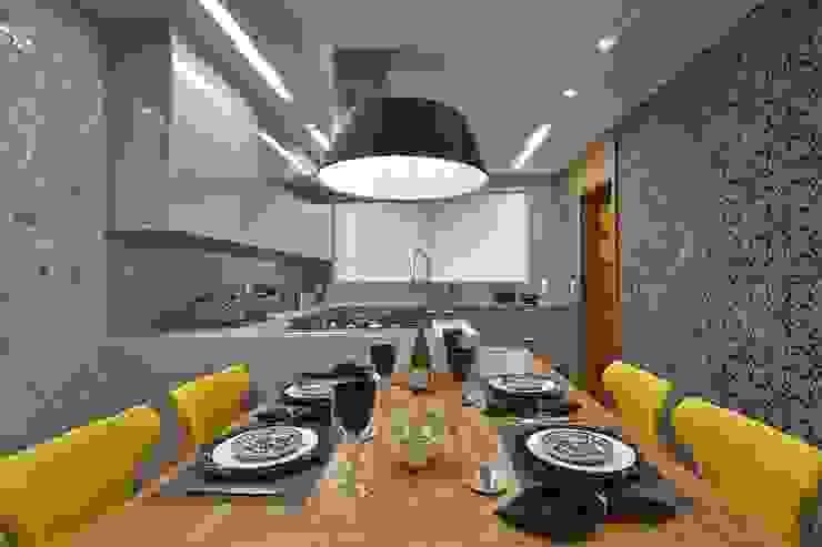 LA27 Casas modernas por David Guerra Arquitetura e Interiores Moderno