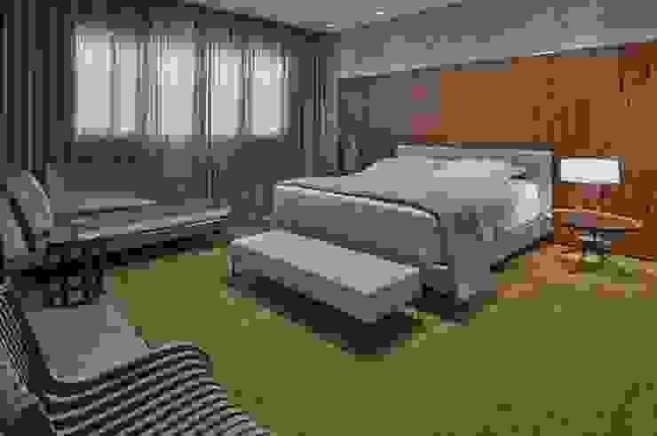 LA28 Casas modernas por David Guerra Arquitetura e Interiores Moderno