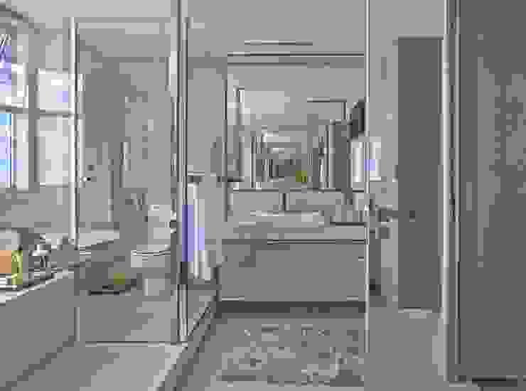 LA34 Casas modernas por David Guerra Arquitetura e Interiores Moderno