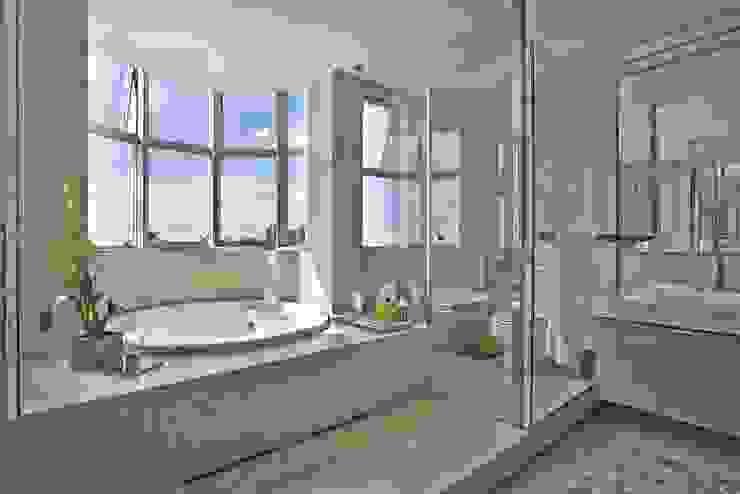LA35 Casas modernas por David Guerra Arquitetura e Interiores Moderno