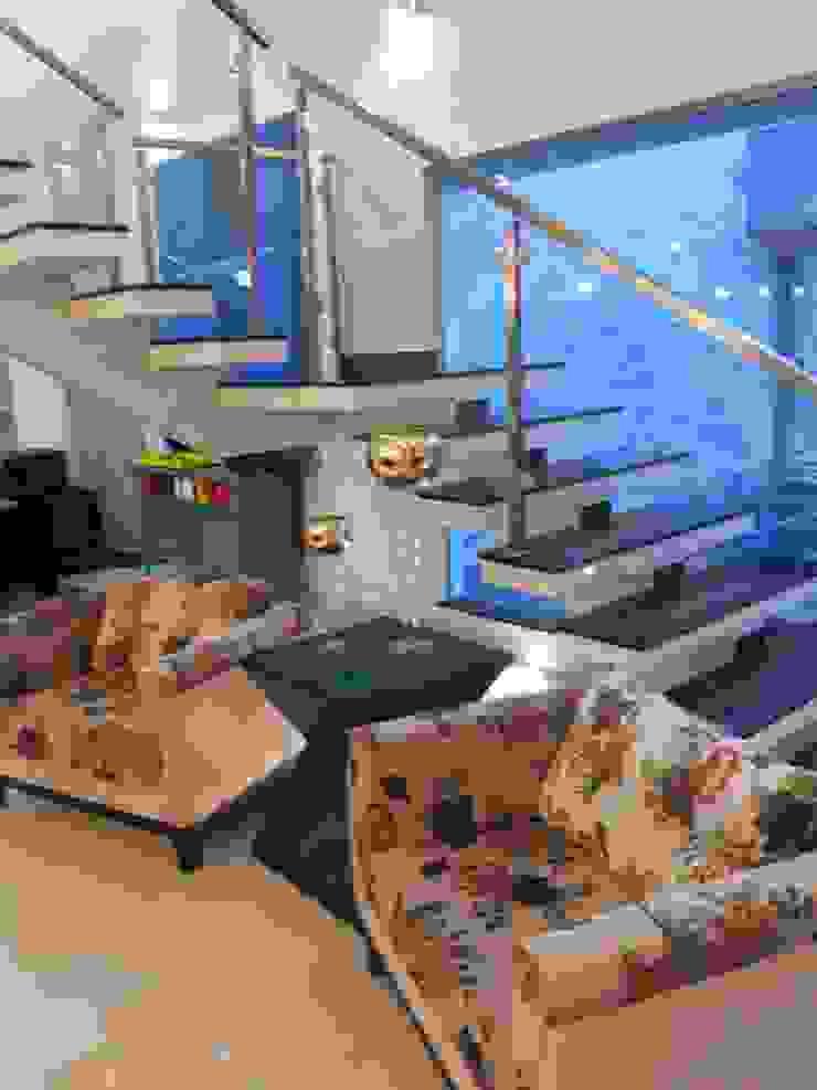 Casa Contemporânea Salas de estar modernas por Renata Prata Studio Moderno
