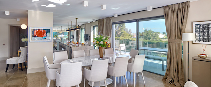 Super Cannes TLA Studio Modern dining room