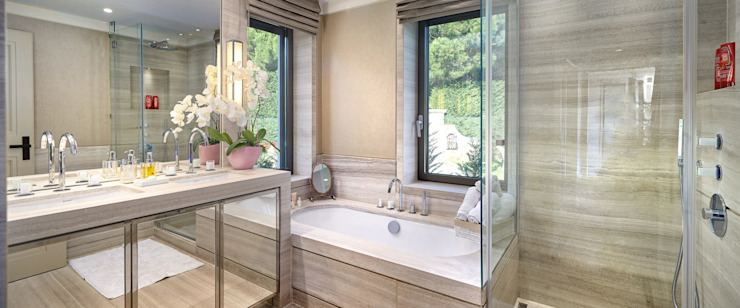 Super Cannes TLA Studio Modern style bathrooms