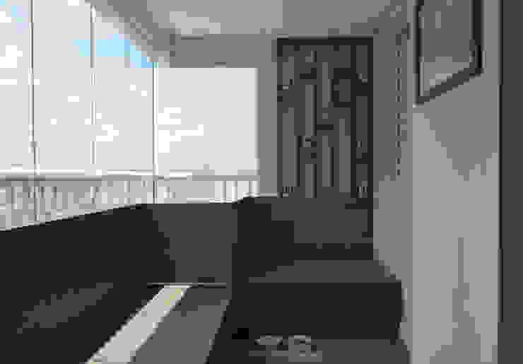 Hiên, sân thượng phong cách hiện đại bởi Fabiana Rosello Arquitetura e Interiores Hiện đại