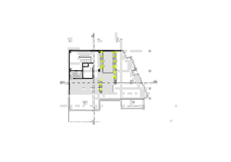 Planta piso 3 Balcones y terrazas de estilo moderno de Le.tengo Arquitectos Moderno