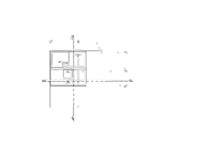 Planta cubiertas Casas modernas de Le.tengo Arquitectos Moderno