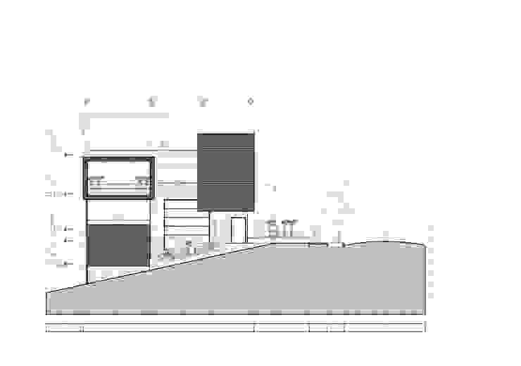 Fachada frontal Casas modernas de Le.tengo Arquitectos Moderno