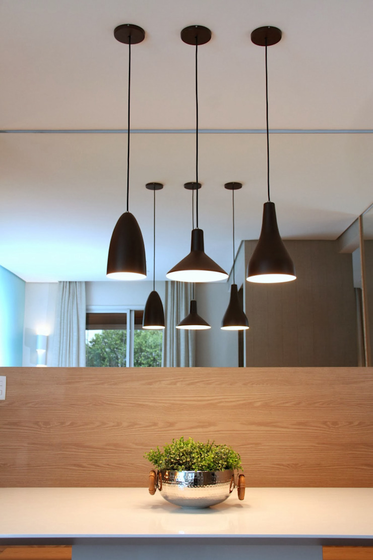 Bosque da Saúde II Salas de jantar modernas por MeyerCortez arquitetura & design Moderno