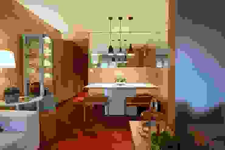 MeyerCortez arquitetura & design Comedores de estilo moderno