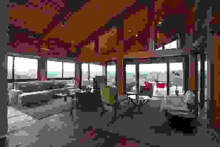 Casa da Montanha 11 Casas rústicas por David Guerra Arquitetura e Interiores Rústico