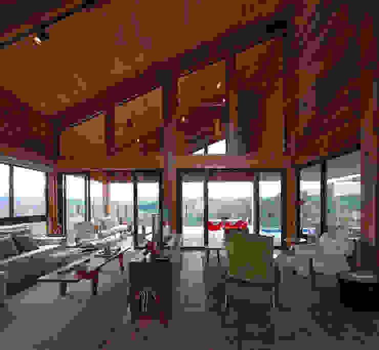 Casa da Montanha 12 Casas rústicas por David Guerra Arquitetura e Interiores Rústico