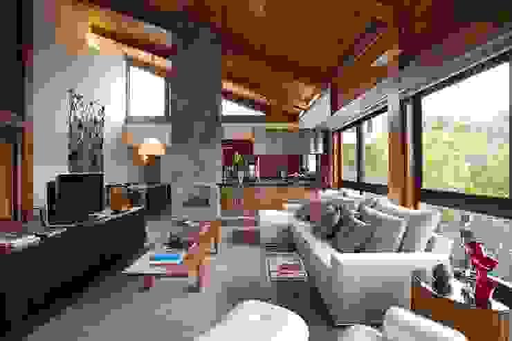 Mountain House Rustik Evler David Guerra Arquitetura e Interiores Rustik