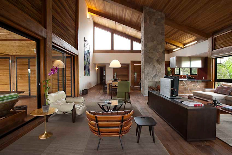 Casa da Montanha 15 Casas rústicas por David Guerra Arquitetura e Interiores Rústico