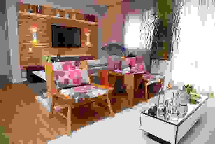 Modern living room by MeyerCortez arquitetura & design Modern