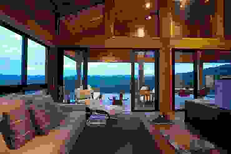 Casa da Montanha 50 Casas rústicas por David Guerra Arquitetura e Interiores Rústico