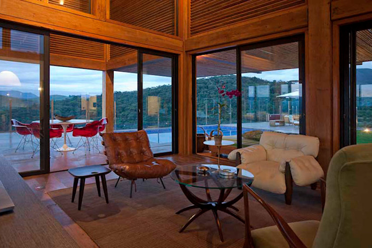 Casa da Montanha 51 Casas rústicas por David Guerra Arquitetura e Interiores Rústico