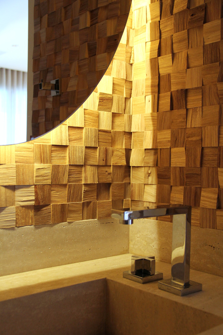 Kamar Mandi Modern Oleh MeyerCortez arquitetura & design Modern