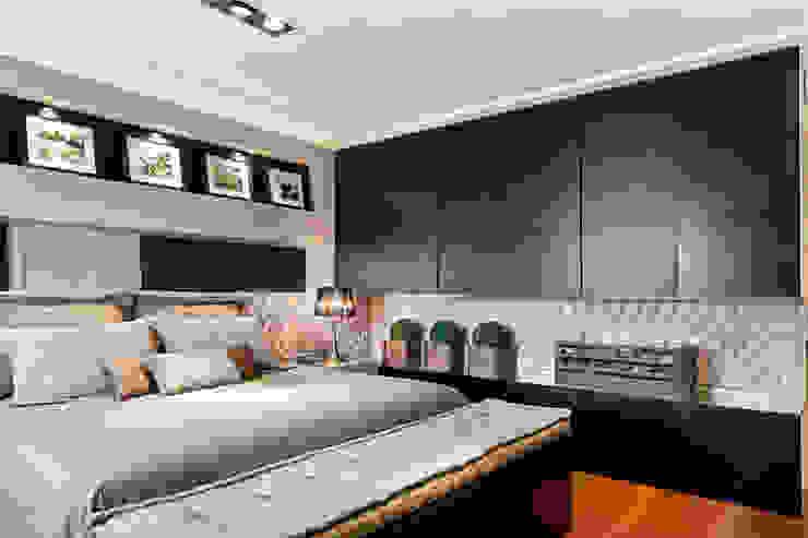 Спальни в . Автор – Joana & Manoela Arquitetura,