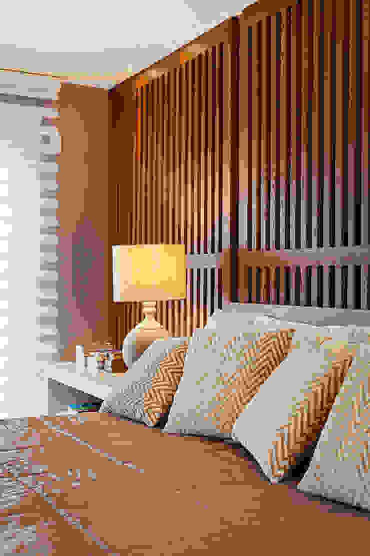 APARTAMENTO TERRAVILLE Quartos modernos por Joana & Manoela Arquitetura Moderno