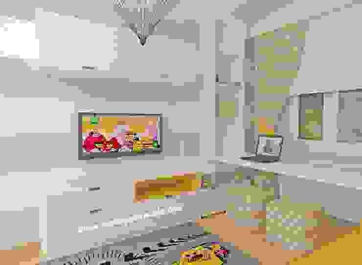Çalışma Masası ve Tv Köşesi Modern Çocuk Odası MOBİLYADA MODA Modern