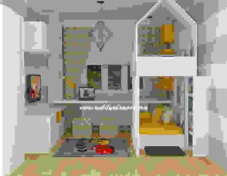 Ev Çatılı Ranza Modern Çocuk Odası MOBİLYADA MODA Modern