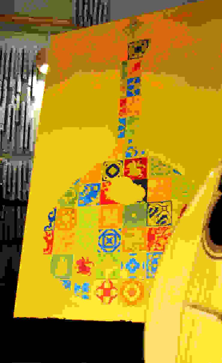 Guitarra - série POP.tugal por Blue Art Factory Moderno