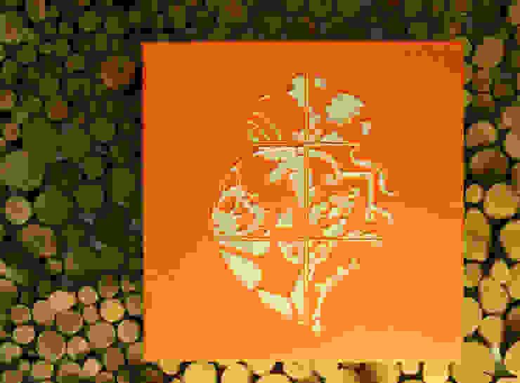 coração de ajulejos - Iconic POP.tugal por Blue Art Factory Moderno