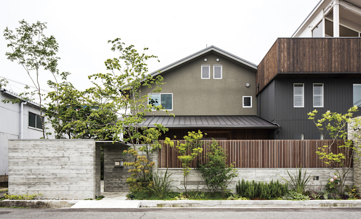 O様邸: WA-SO design    -有限会社 和想-が手掛けた折衷的なです。,オリジナル 木 木目調