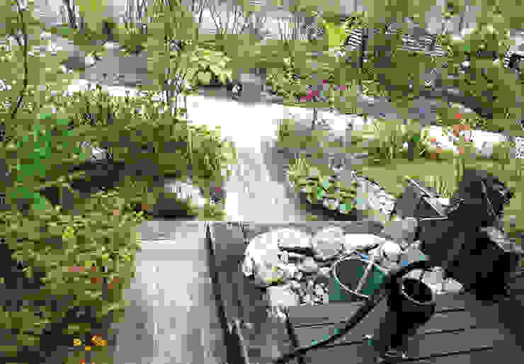 O様邸: WA-SO design    -有限会社 和想-が手掛けた庭です。,カントリー