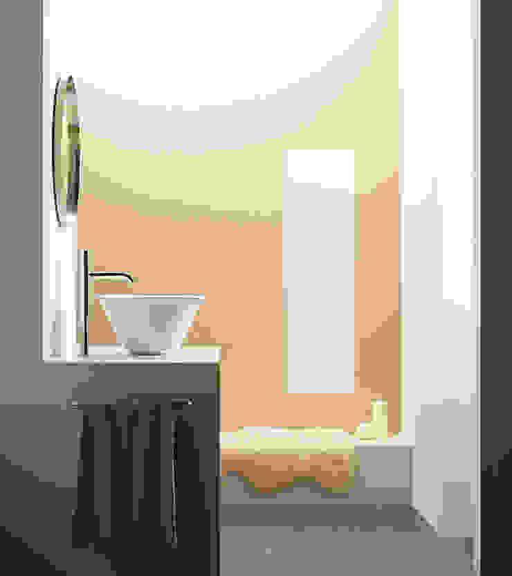 BATHCO BathroomSinks Porcelain White