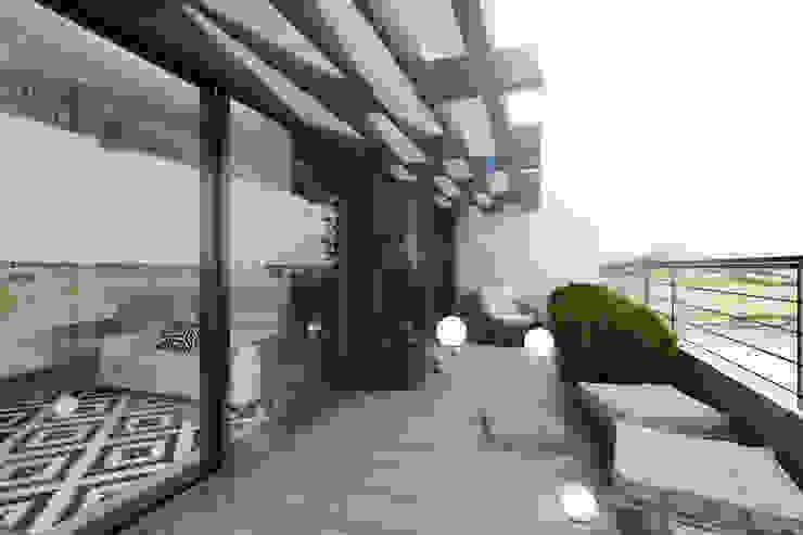 Terrasse de style  par BURO'82, Moderne