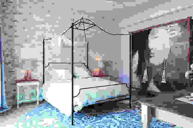 Mediterrane Schlafzimmer von BURO'82 Mediterran Kalkstein