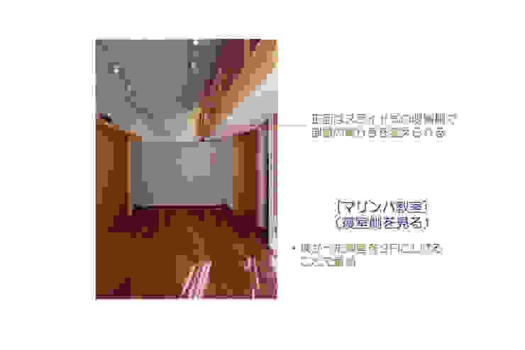 Eklektyczny pokój multimedialny od 豊田空間デザイン室 一級建築士事務所 Eklektyczny