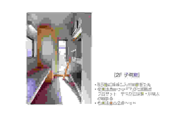 Eklektyczny pokój dziecięcy od 豊田空間デザイン室 一級建築士事務所 Eklektyczny
