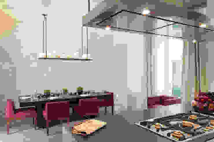 Lancasters Show Apartments - Kitchen Space LINLEY London 現代廚房設計點子、靈感&圖片