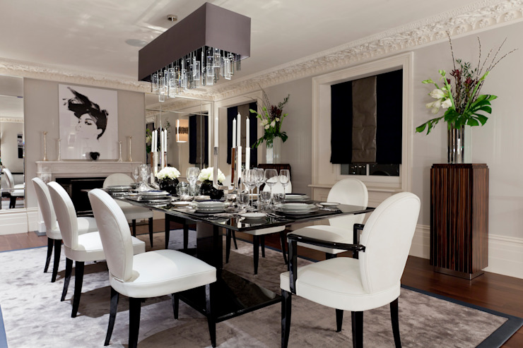 Lancasters Show Apartments - Formal Dining Room LINLEY London 餐廳